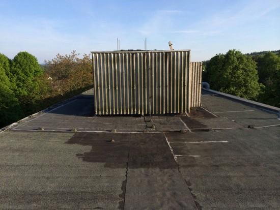 Dach Hauptgebaeude